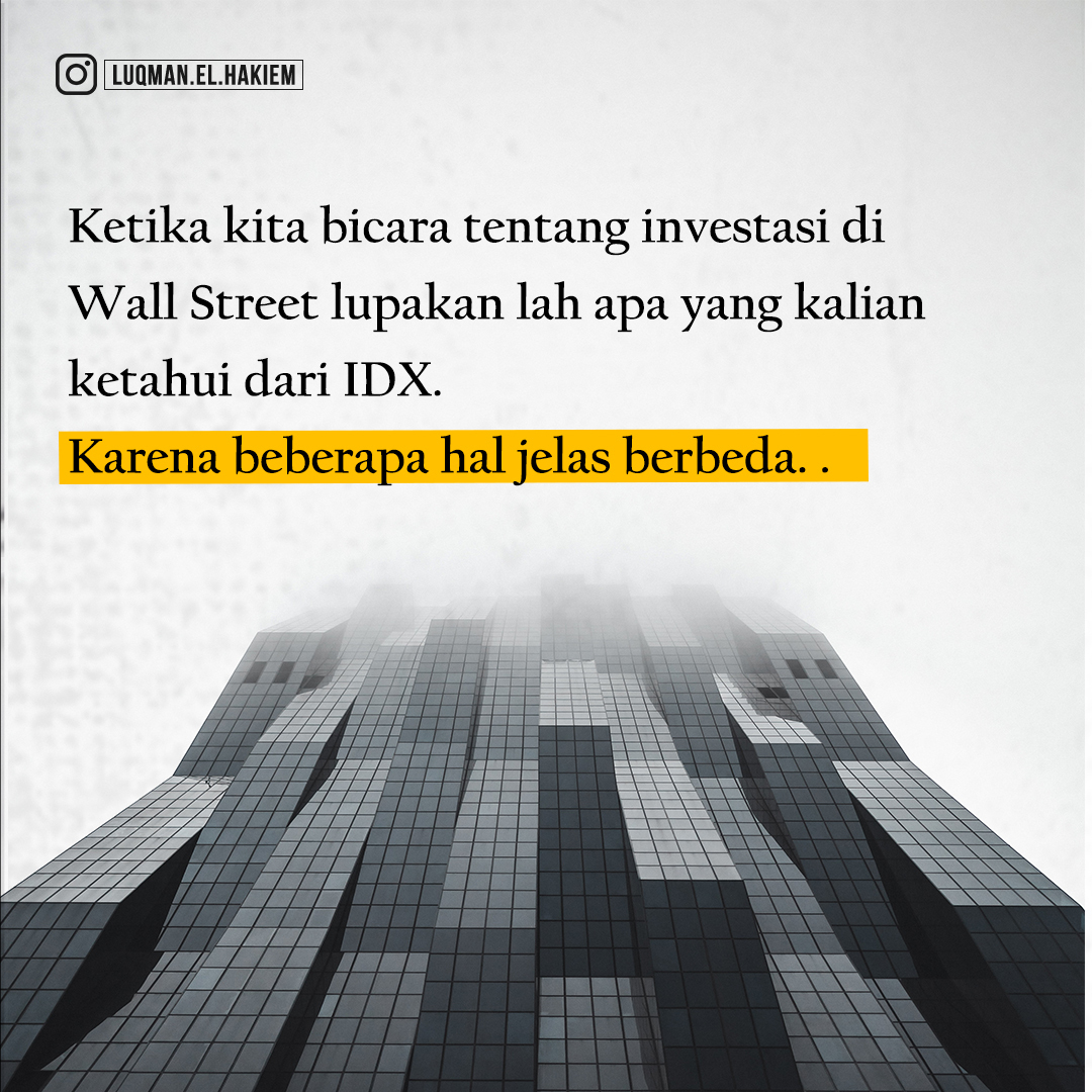 fee transaksi wall street