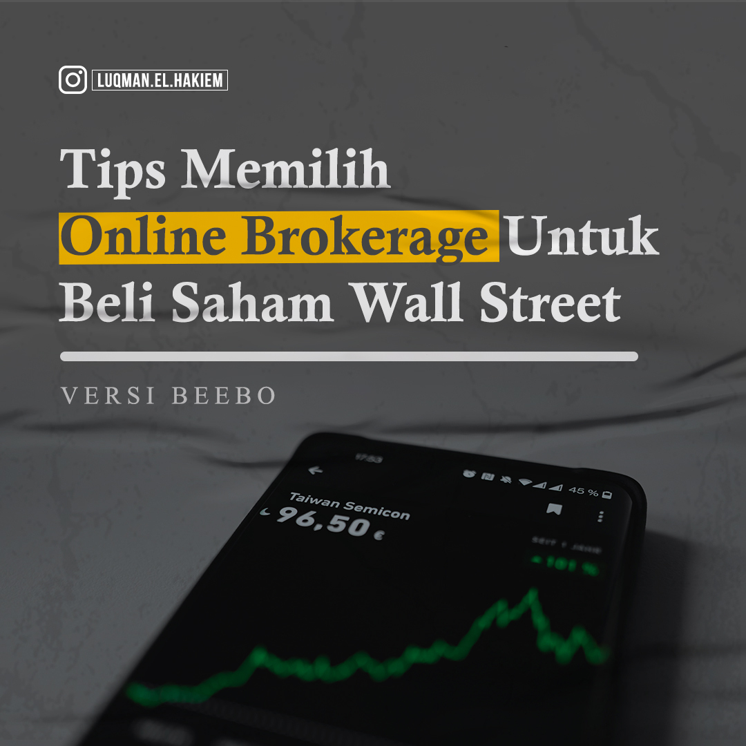 tips pilih online broker